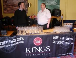 Paul & Eddie toasting event