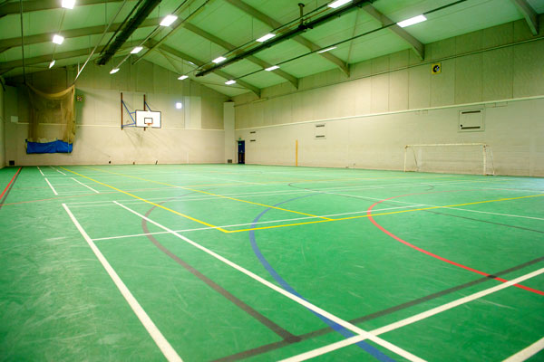 multi-use sports hall
