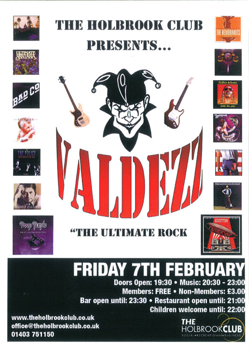 Valdezz Band Night