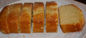 Home made cakes - lushious lemon