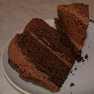 Home made cakes - chocolate