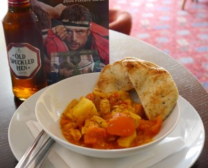 Curry, beer & Rugby ii