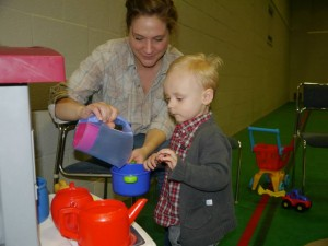 Toddler group at the holbrook club in Horsham