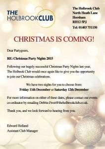 Christmas poster promo