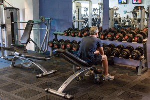 Holbrook Club Gym Weights Section