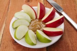 apple slices peanut butter