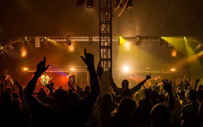 Fake Festival crowd